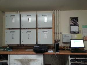 kiln control enclosure